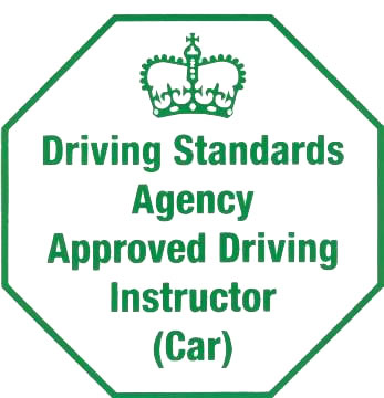 Approved Driving Instructor Green Badge Logo