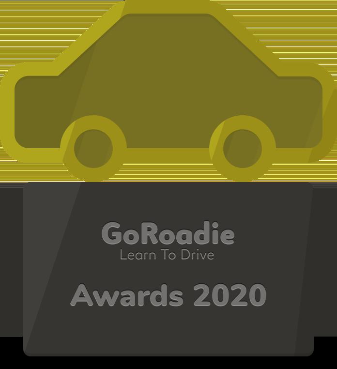 GoRoadie Awards 2020 trophy graphic