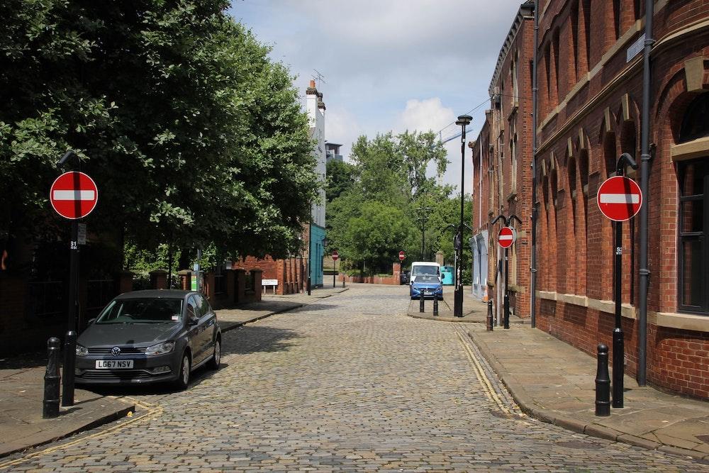 Parking Spots in Leeds photo by Gary Butterfield
