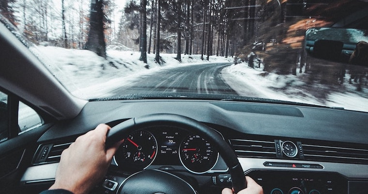 Photo of a person driving by Jaromír Kavan
