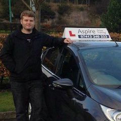 Gavin Kidd, Aspire Driving School