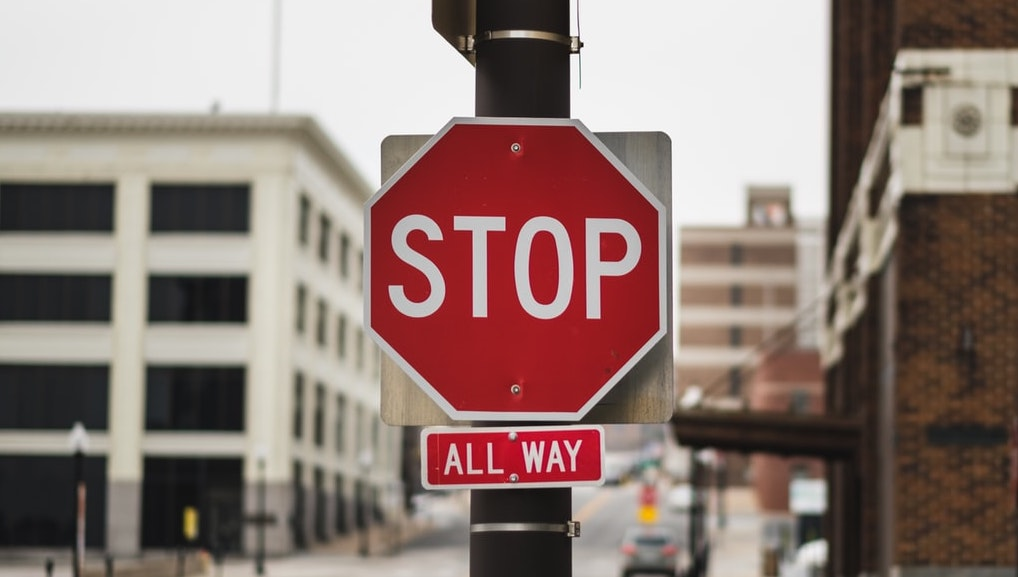 Stop Sign photo by John Matychuk